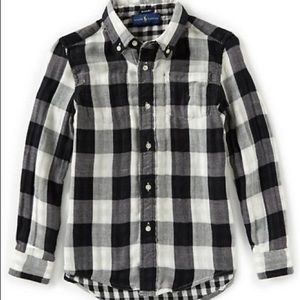 Polo Ralph Lauren Kids Reversible Plaid Shirt